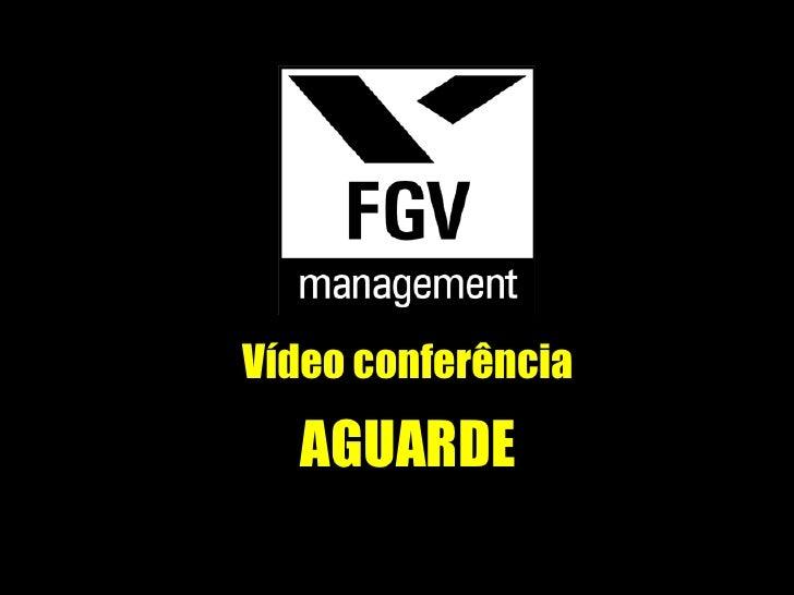 Vídeo conferência AGUARDE