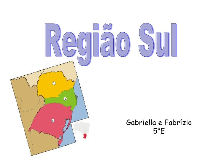 Região Sul Gabriella e Fabrízio 5°E