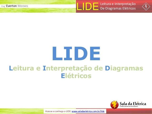 Eng° Everton Moraes LIDELeitura e Interpretação De Diagramas Elétricos Acesse e conheça o LIDE: www.saladaeletrica.com.br/...