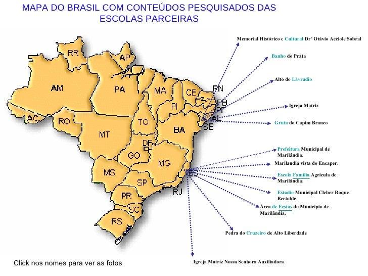 Click nos nomes para ver as fotos Igreja Matriz Nossa Senhora Auxiliadora  Prefeitura  Municipal de Marilândia .   Estadio...