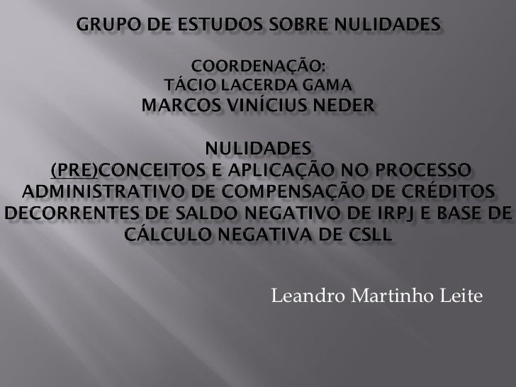 Leandro Martinho Leite