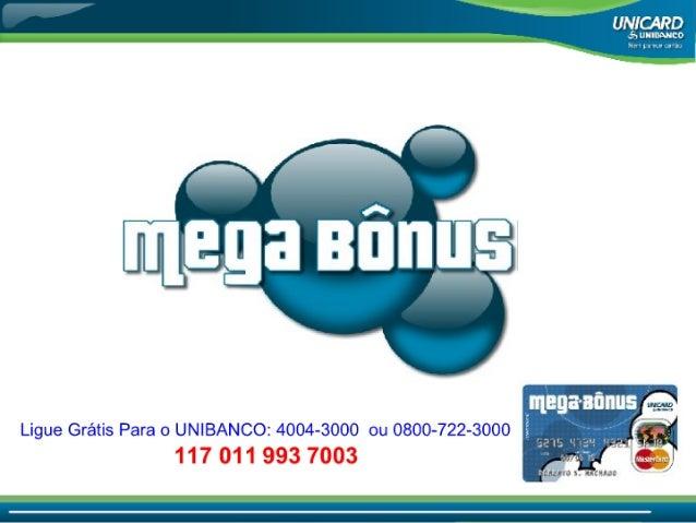 Apresentação Oficial Megabonus