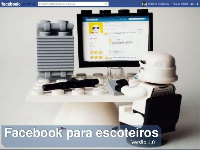 Facebook para escoteiros Versão 1.0