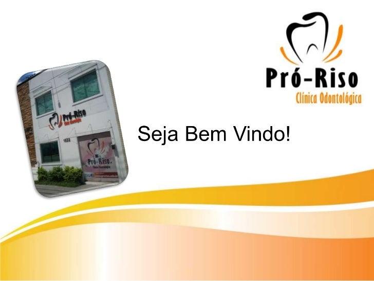 Quem Somos?        A Pró Riso é uma clínica odontológica que está a 15 anos nomercado paraense e ao longo desses período t...