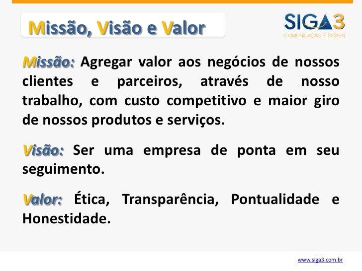 SIGA3 - APRESENTACAO Slide 3