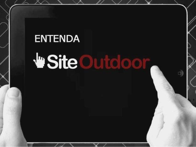 Apresentação SiteOutdoor