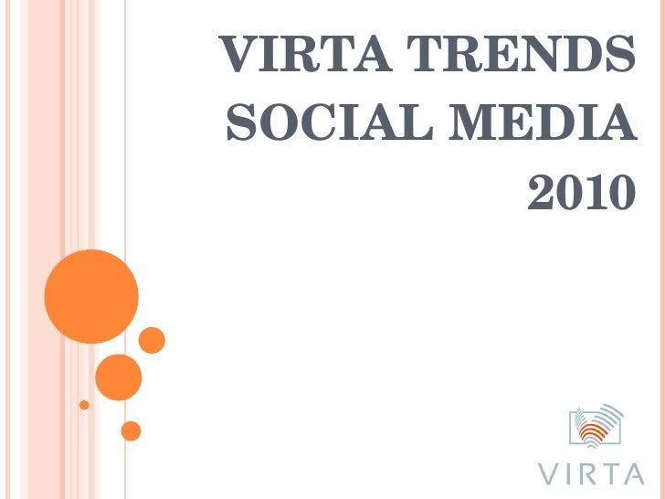 Apresentação - Social Media