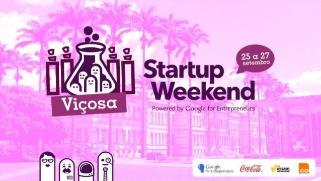 Faça parte do maior evento de empreendedorismo e inovação do mundo! Venha participar do Startup Weekend e atuar no desenvo...