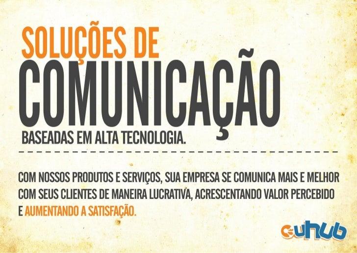Apresentação uHuB.com.br