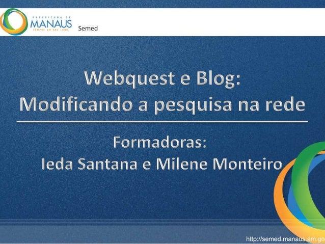Uma forma extraordinária de seus alunos aprenderem sobre qualquer assunto é através da Webquest. Essa é a mais nova metodo...