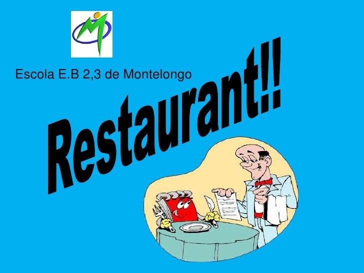 Escola E.B 2,3 de Montelongo