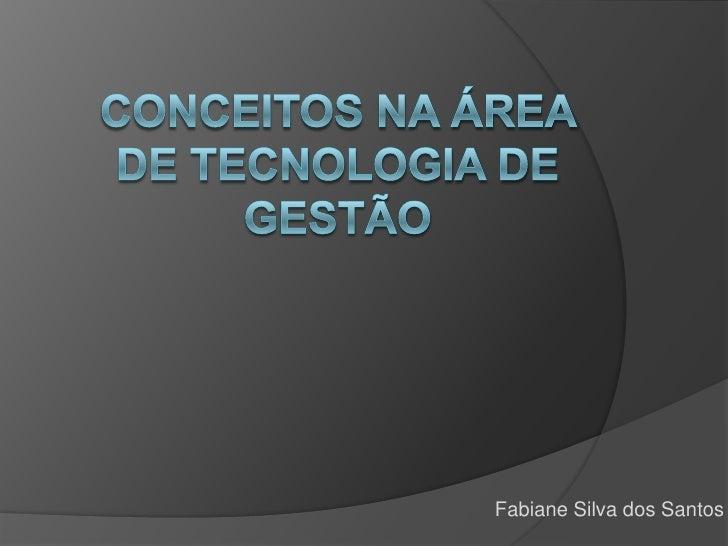 Fabiane Silva dos Santos
