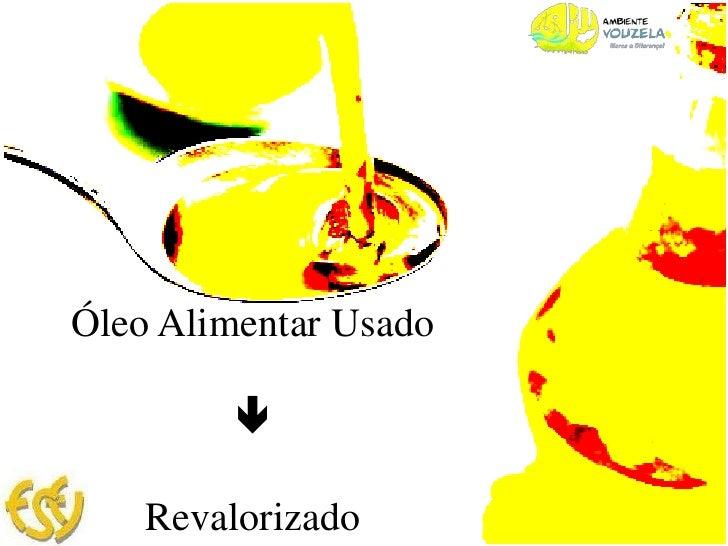 Óleo Alimentar Usado<br /><br />Revalorizado <br />
