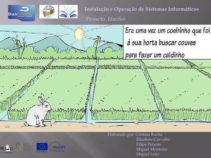 O coelhinho branco Slide 2