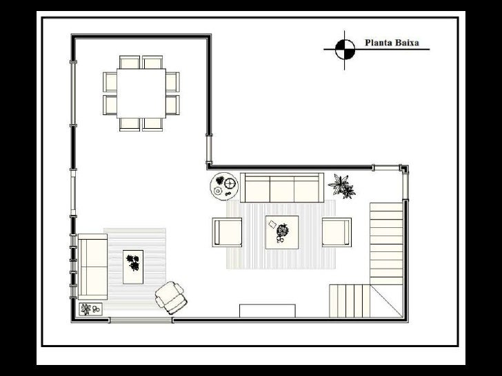 Projetos de Salas Residenciais