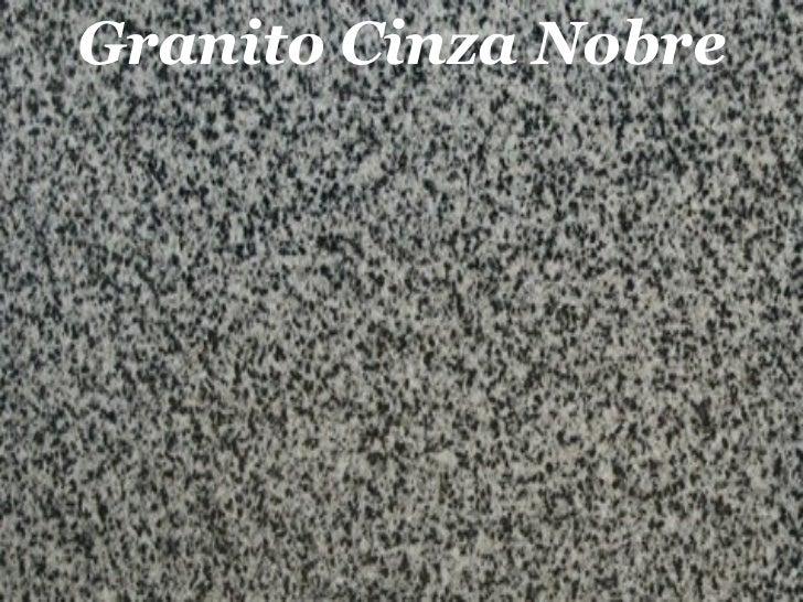 Granito Cinza Nobre