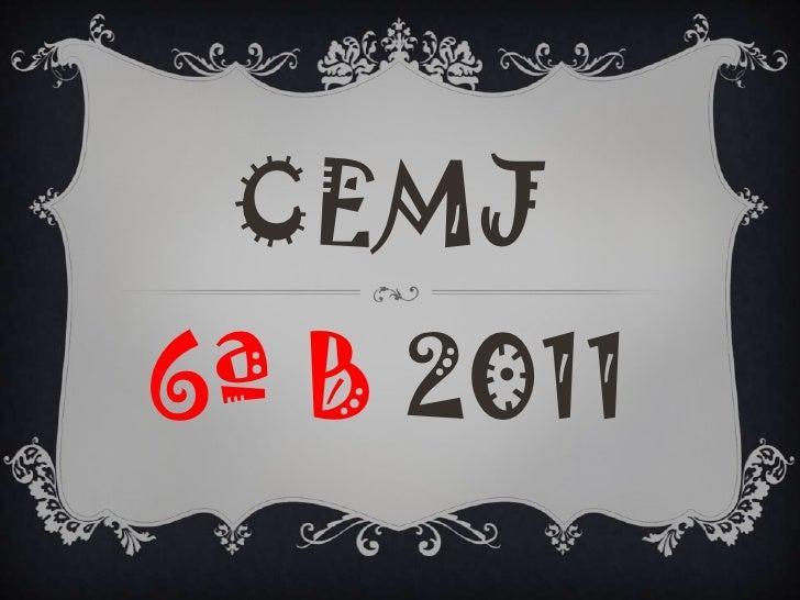 CEMJ6ª B 2011<br />