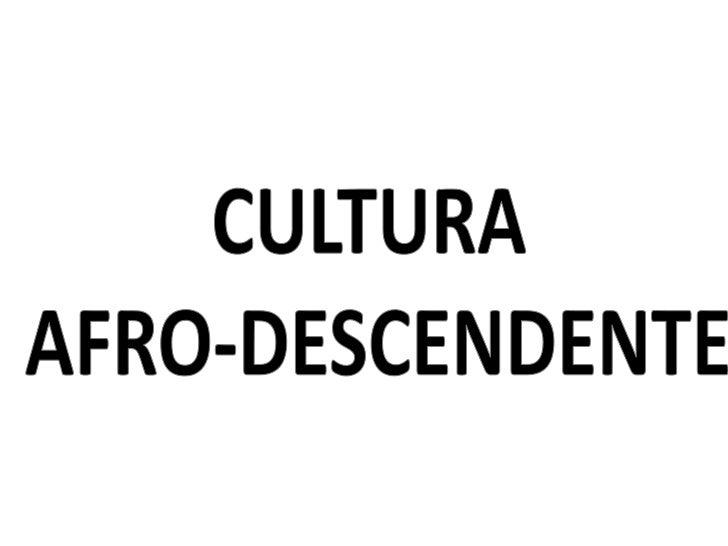 O Brasil tem a maior população de                             origem africana fora da África e, por isso, a cultura       ...