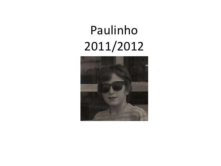 Paulinho2011/2012