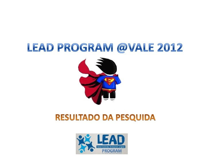 Lead Program Results