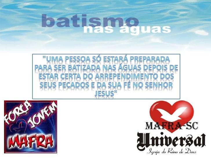 Batismo FJB Mafra