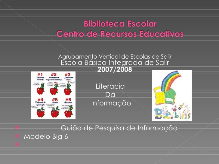 <ul><li>Agrupamento Vertical de Escolas de Salir Escola Básica Integrada de Salir 2007/2008 </li></ul><ul><li> Literacia ...