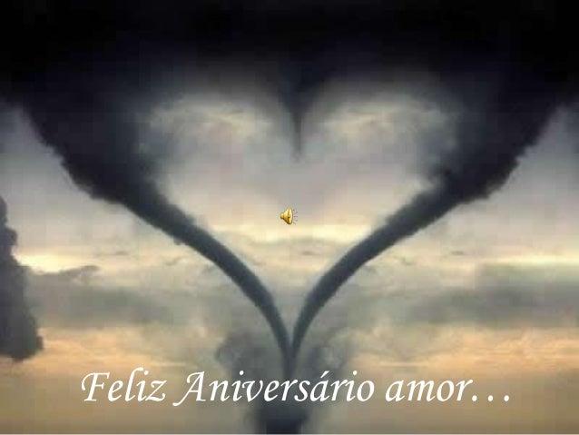Feliz Aniversário amor…