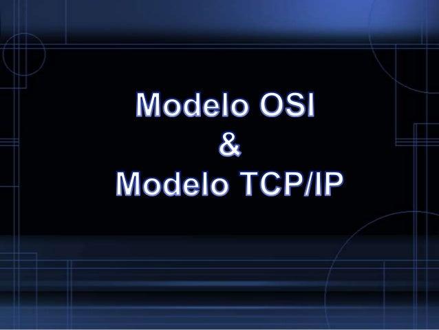 Modelo OSI O Modelo OSI (Open Systems Interconnection) é a gestão de uma  rede de comunicação de dados é uma questão comp...