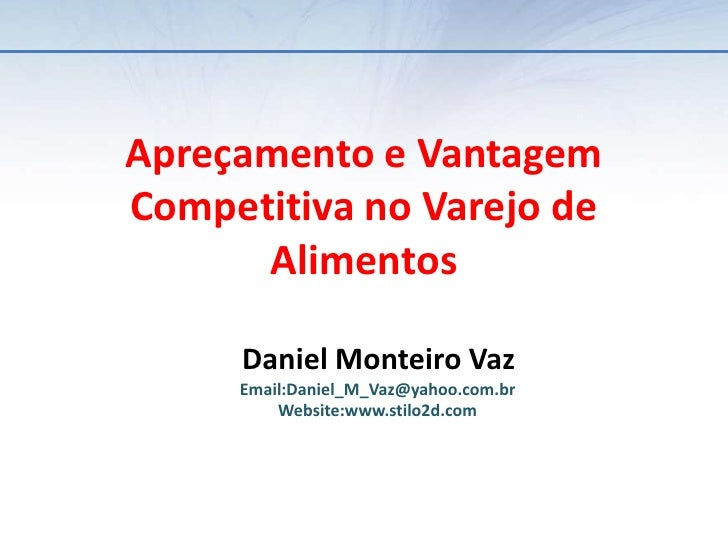 Apresentação Precificação & Concorrência