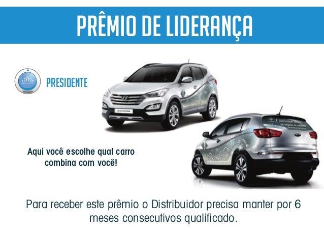 Para receber este prêmio o Distribuidor precisa manter por 6 meses consecutivos qualificado. PRESIDENTE PRÊMIO De Liderança...