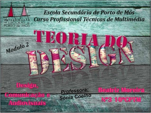 Escola Secundária de Porto de MósCurso Profissional Técnicas de Multimédia