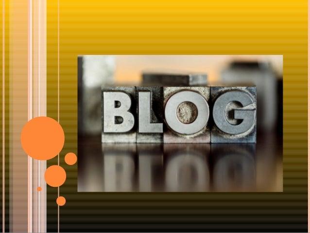 O QUE É BLOG ?  Blogs são páginas da internet onde regularmente são publicados diversos conteúdos, como textos, imagens, ...