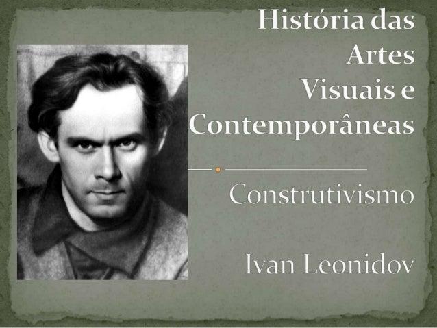  Arquitecto soviético, Ivan Ilich Leonidov nasceu em  1902, em Vlasikh.  Frequenta o curso de Pintura até ingressar no e...