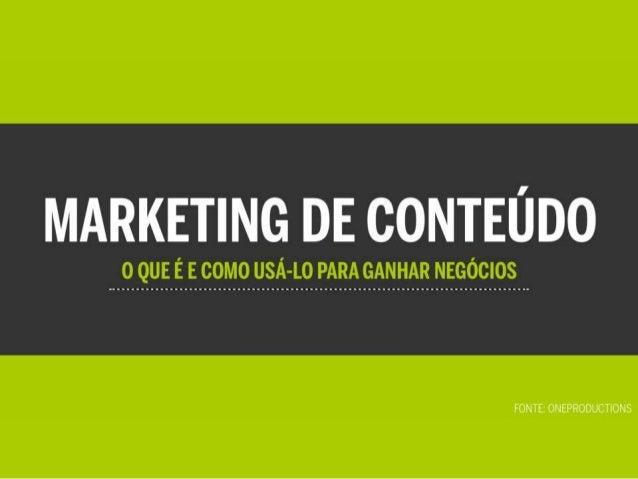 Marketing de Conteúdo - O que é e como usá-lo para ganhar negócios
