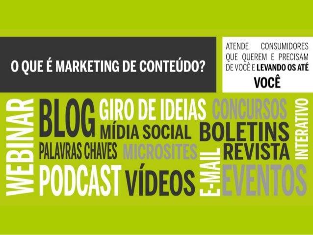 Marketing de Conteúdo - O que é e como usá-lo para ganhar negócios Slide 2