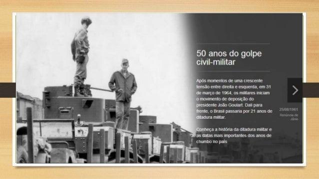 História da Ditadura no Brasil. 50 Anos