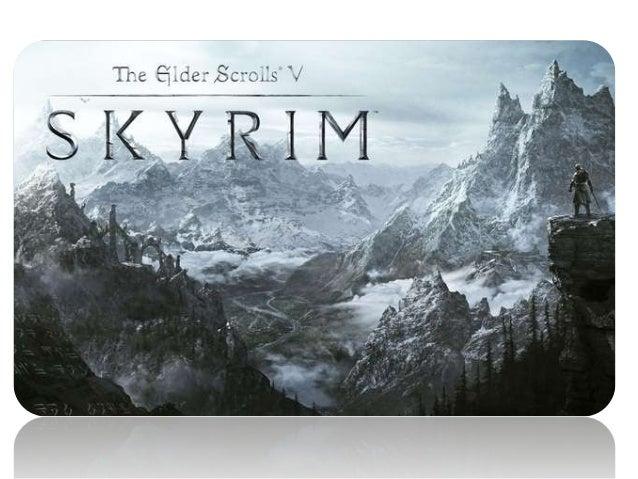 The Elder Scrolls V: Skyrim • The Elder Scrolls V: Skyrim é um RPG eletrônico desenvolvido pela Bethesda Game Studios e pu...