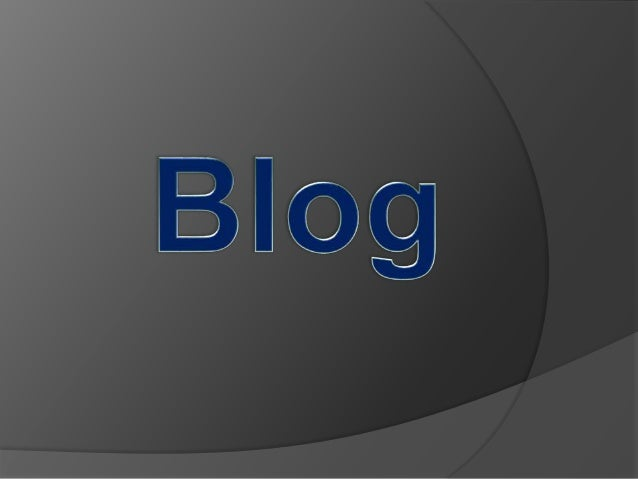 Oque é Blog