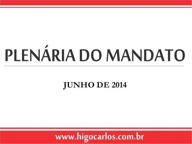 JUNHO DE 2014