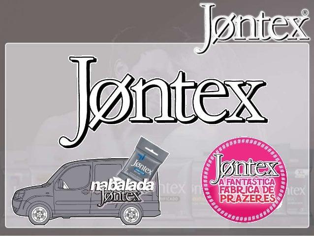 A Jontex é a empresa brasileira líder no mercado nacional de preservativos. - Pioneira na categoria atuando desde 1936; - ...
