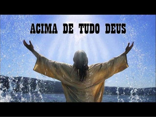Acima de tudo Deus (Mensagem de Allan Garrido)