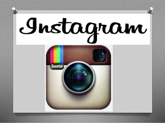 A historia do instagram  O O Instagram foi criado por Kevin Systrom e Mike Krieger e lançado  em outubro de 2010. O serviç...