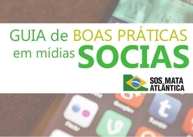 GUIA de BOAS PRÁTICAS SOCIASem mídias