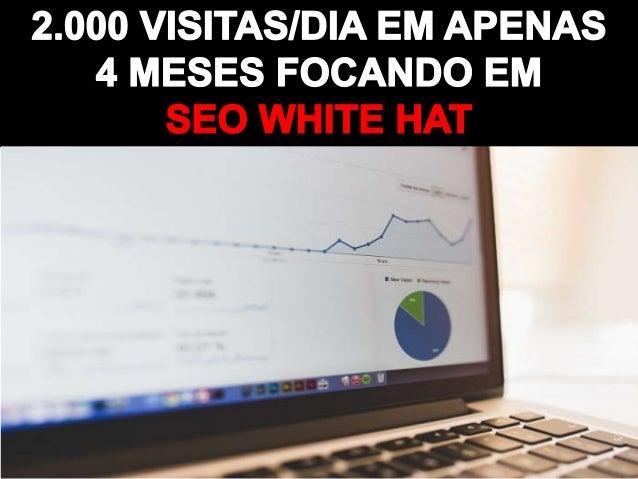 2.000 visitas/dia focando em SEO White Hat
