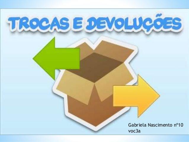 Gabriela Nascimento nº10 voc3a