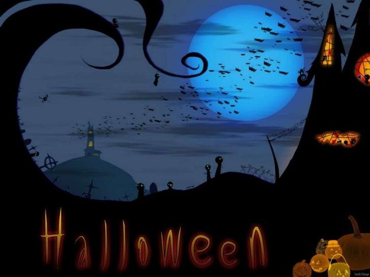 Introdução   O Halloween é uma festa    comemorativa celebrada todo    ano no dia 31 de outubro,    véspera do dia de Tod...