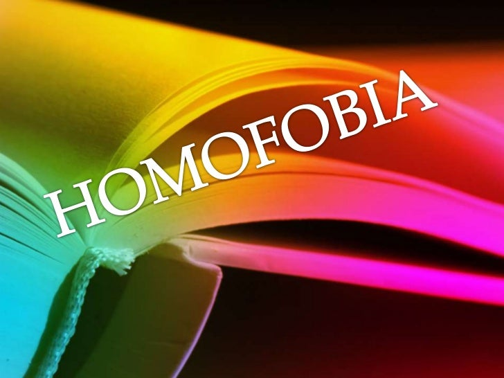 HOMOFOBIA<br />