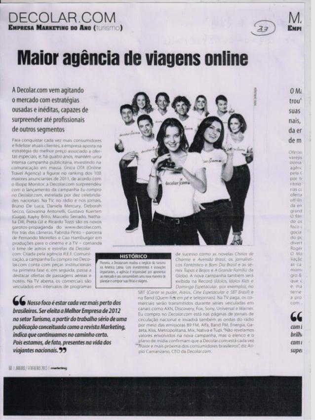 Maior agência de viagens online