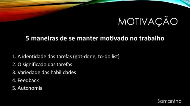 Liderança Motivação E Trabalho Em Equipe