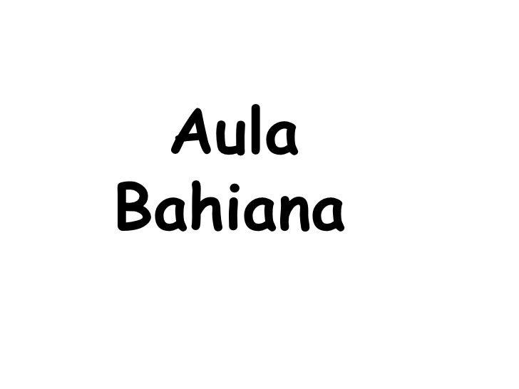 AulaBahiana